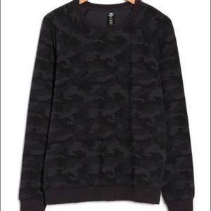 90 Degree By Reflux Camo Long Sleeve Sweatshirt